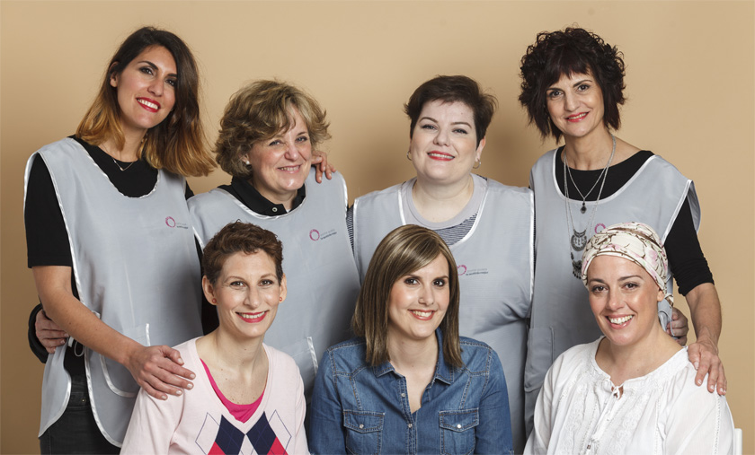 Esteticistas voluntarios